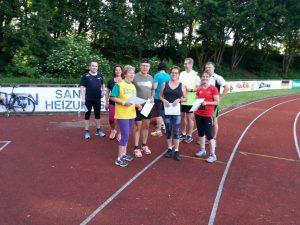 Start Training zum Sportabzeichen